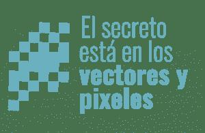Pixeles y vectores en Photoshop e Illustrator